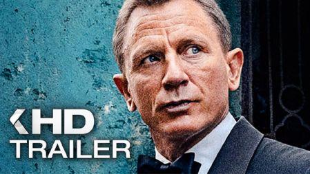 JAMES BOND 007: No Time To Die Trailer   2020
