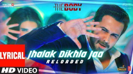 The Body - Jhalak Dikhla Jaa Reloaded Lyrical Video | Rishi K, Emraan H