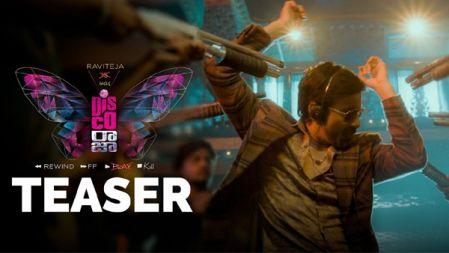 Disco Raja Movie Teaser | Ravi Teja | Nabha Natesh | Payal Rajput | Tanya Hope