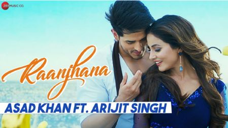 Raanjhana - Priyank Sharmaaa & Hina Khan | Asad Khan ft. Arijit Singh| Zee Music Originals