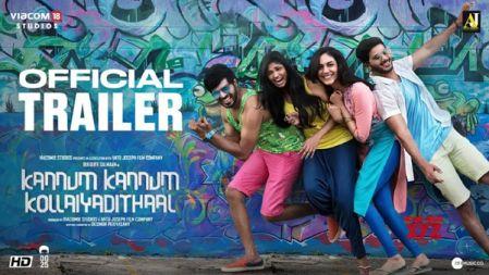 Kannum Kannum Kollaiyadithaal  Second Trailer | Dulquer S, Ritu V, Rakshan, Niranjani A