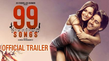 99 SONGS Official Trailer | AR Rahman | Ehan Bhat | Edilsy | Lisa Ray | Manisha Koirala