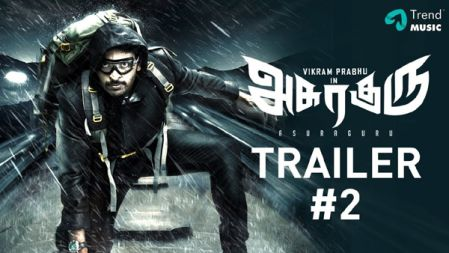 Asuraguru Movie Trailer #2 | Tamil | Vikram Prabhu | Mahima Nambiar | Yogi Babu | Trend Music