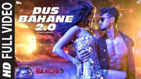 Baaghi 3 -  Dus Bahane 2.0 Full Video |Vishal & Shekhar FEAT. KK, Shaan & Tulsi K | Tiger,