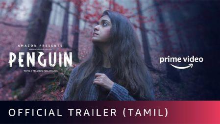 Penguin Official Trailer | Tamil | Keerthy Suresh | Karthik Subbaraj