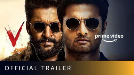 V Movie Official Trailer | Nani, Sudheer Babu, Aditi Rao Hydari, Nivetha Thomas