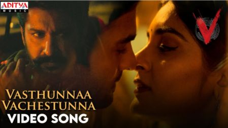 Vasthunnaa Vachestunna Video Song | V  | Nani, Sudheer Babu | Amit Trivedi