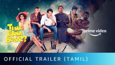 Time Enna Boss!? Movie Official Trailer | Bharath , Priya Bhavani shankar | Amazon Prime Video | Kavithalayaa