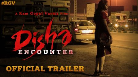 Disha Encounter Official Trailer | Disha Movie | Ram Gopal Varma | RGVDisha