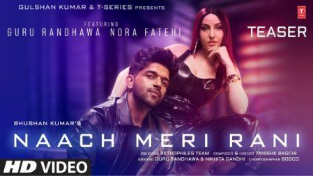 Naach Meri Rani TEASER | Guru Randhawa Feat. Nora Fatehi | Nikhita Gandhi, Tanishk Bagchi