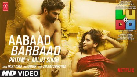 LUDO | Aabaad Barbaad Song | Abhishek B, Aditya K | Rajkummar R, Sanya M, Fatima S