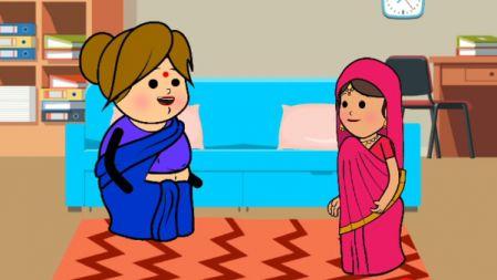 Atrocities of mamiyar and marumagal|comedy animation video in tamil