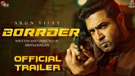 ArunVijayIn Borrder - Official Trailer | Arun Vijay, Regina Cassandra, Stefy | Arivazhagan | Sam CS