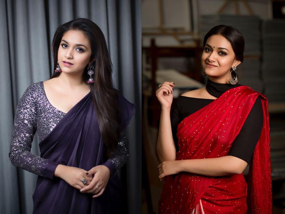 Keerthy Suresh SIMA Awards & Mahanati Clicks